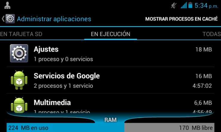 Resultado de imagen para memoria ram android